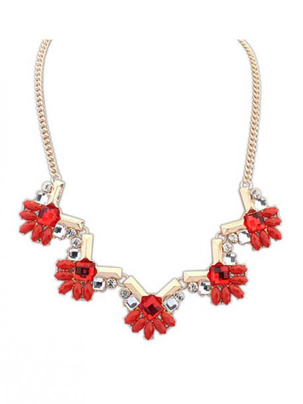 Occident New Stylish Geometry all-match Necklace
