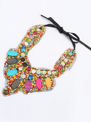 Occident Exotic Personality Retro Necklace-11