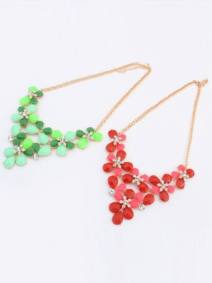 Occident New Butterfly Flowers Bohemia Necklace