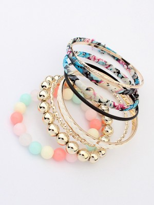 Occident All-match Bohemia Multi-layered Fabric Hot Sale Bracelet