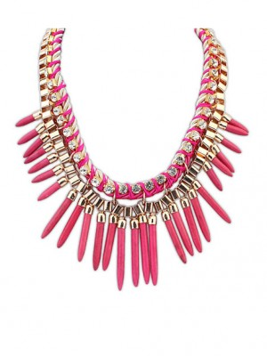 Occident Hyperbolic Personality Punk Street shooting Necklace