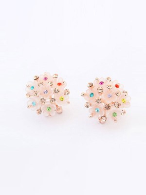 Occident All-match Floret Ear Clip