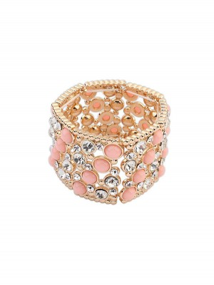 Occident Fashionable Wide Version Elasticity Bracelet