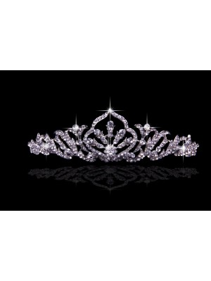 Pretty Alloy With Czech Rhinestones Wedding Headpieces