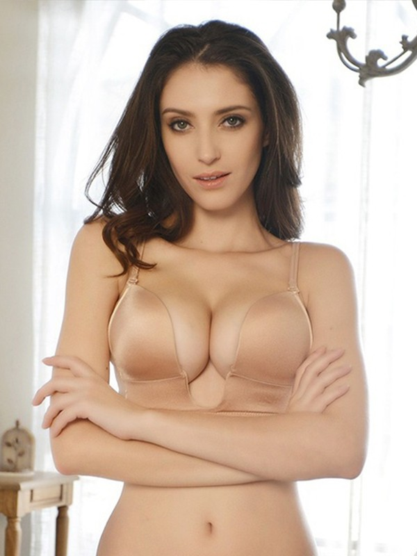 Strapless Cotton Invisible Bra
