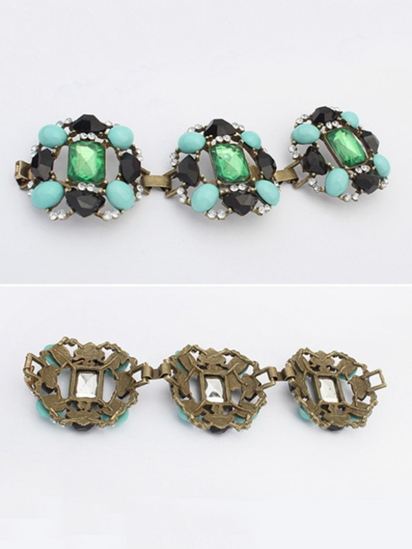 Occident Stylish Emeralds Luxurious Bracelets
