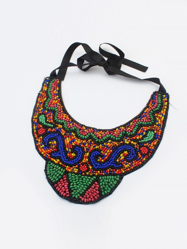 Occident Exotic Personality Retro Necklace-19