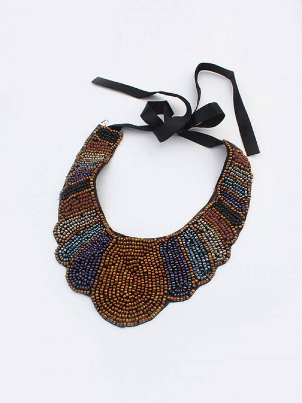 Occident Exotic Personality Retro Necklace-20