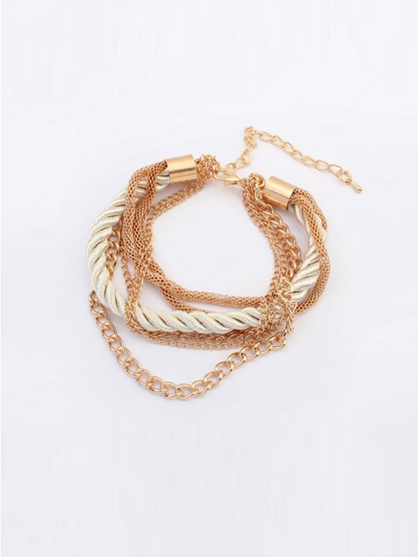 Occident All-match Woven Multi-layered Bracelets
